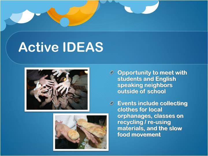 Active IDEAS