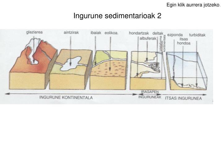 Ingurune sedimentarioak 2