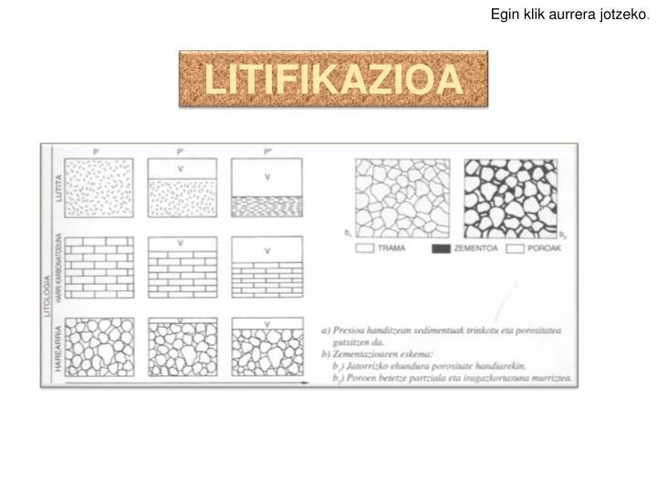 LITIFIKAZIOA