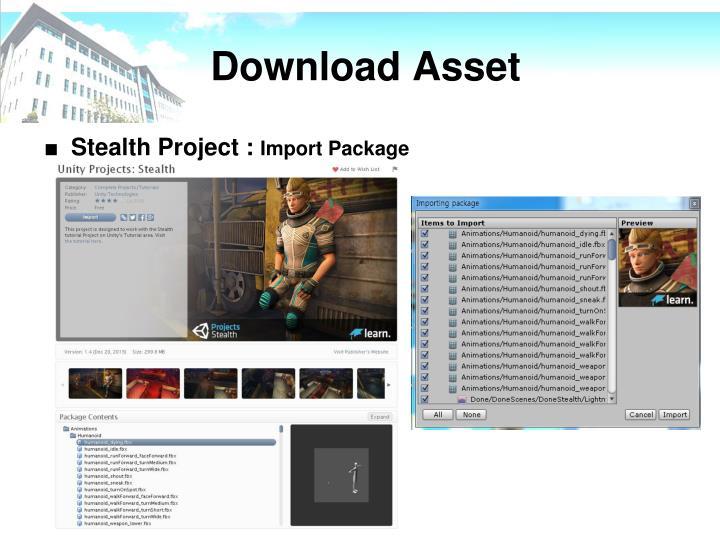 Download Asset