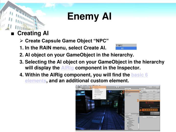 Enemy AI