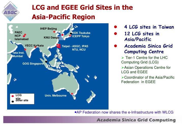 LCG site