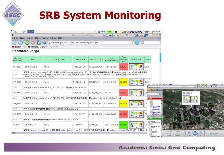 SRB System Monitoring