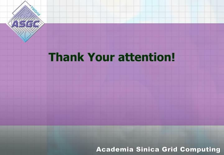 Thank Your attention!