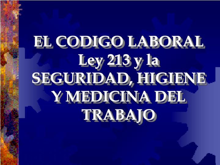 EL CODIGO LABORAL