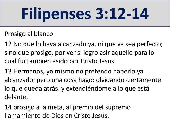 Filipenses 3:12-14
