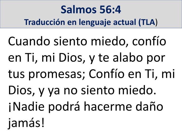 Salmos 56:4