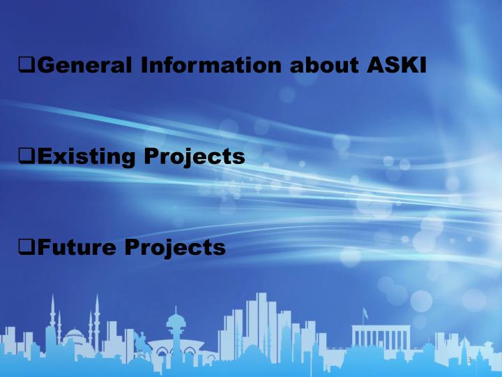 General Information about ASKI