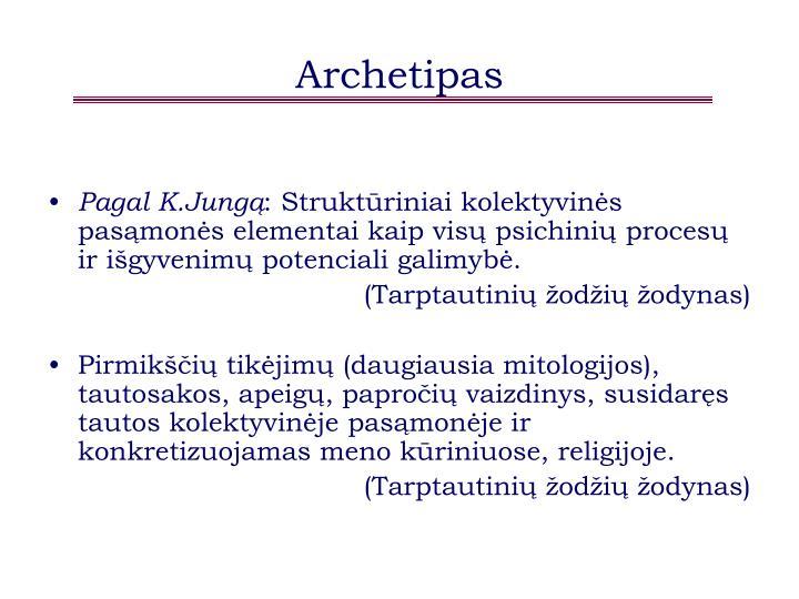 Archetipas