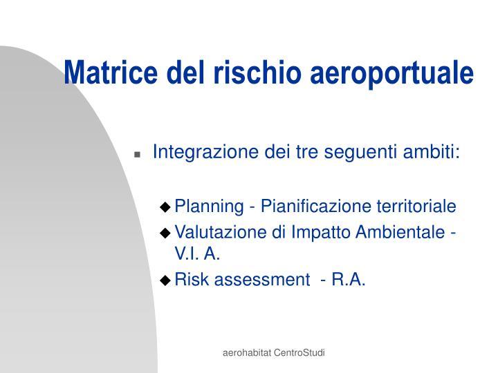 Matrice del rischio aeroportuale