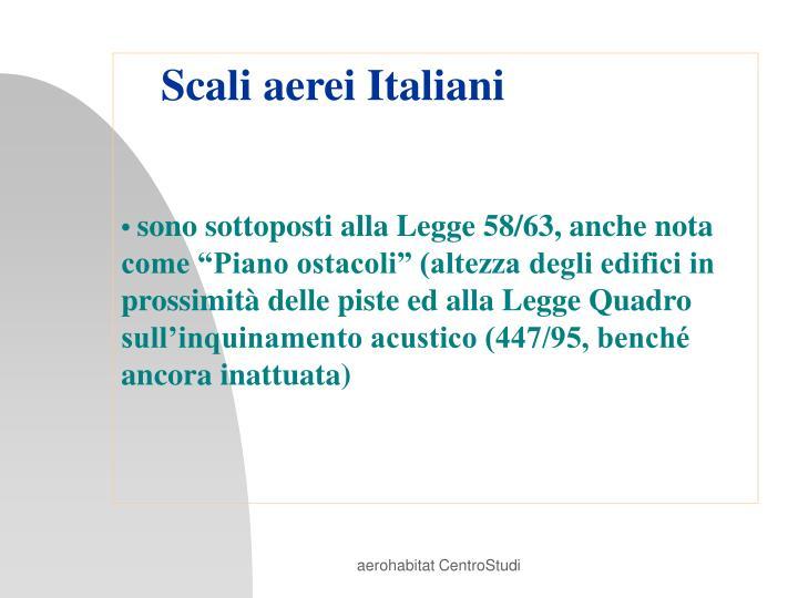 Scali aerei Italiani