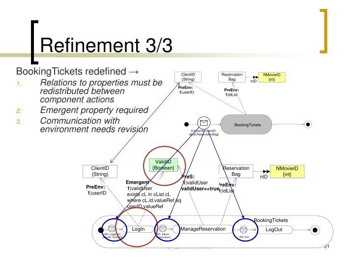 Refinement 3/3
