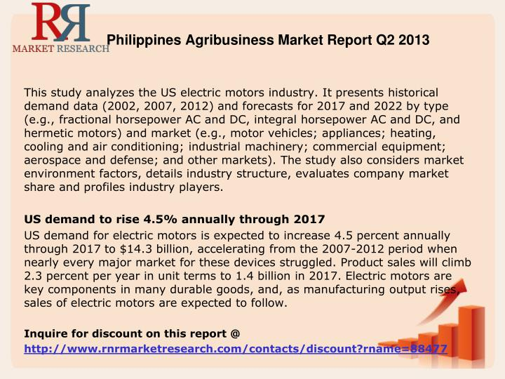 Philippines Agribusiness Market Report Q2 2013