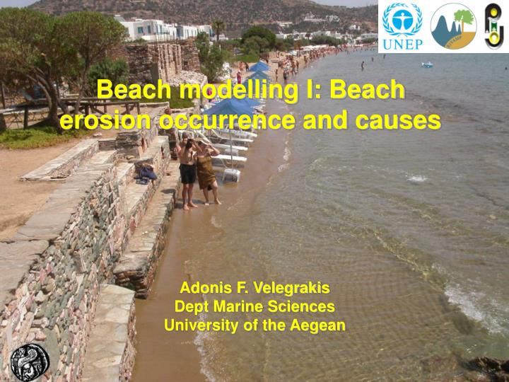 Beach modelling I: Beach erosion occurrence and causes