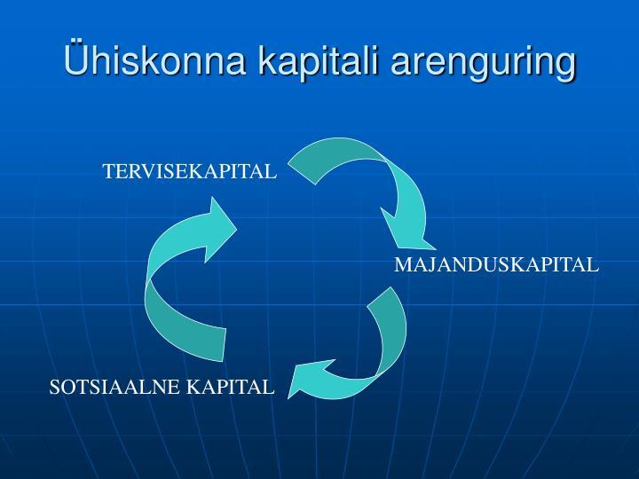 Ühiskonna kapitali