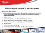 balancing sub ledgers to balance sheet3