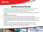 multicurrency set up1