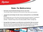 rules for multicurrency1