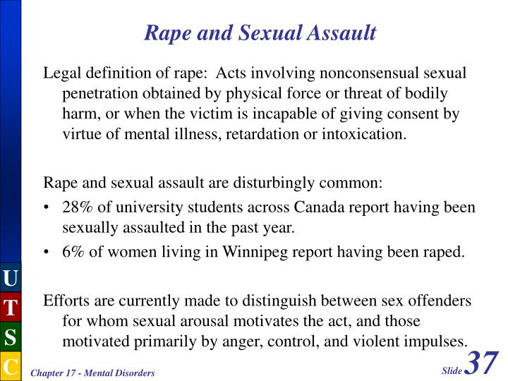 Rape and Sexual Assault