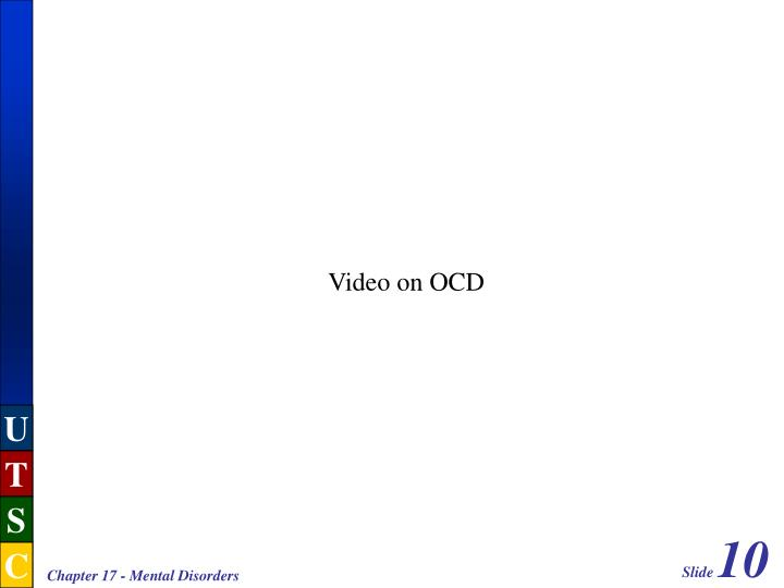 Video on OCD