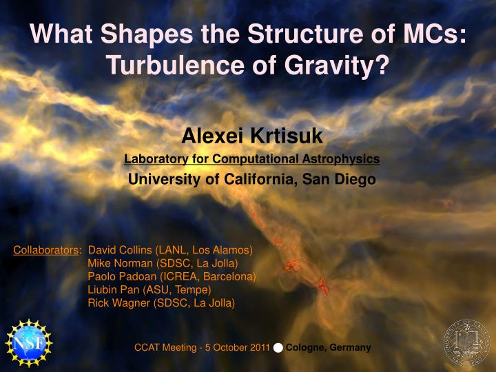 What Shapes the Structure of MCs: