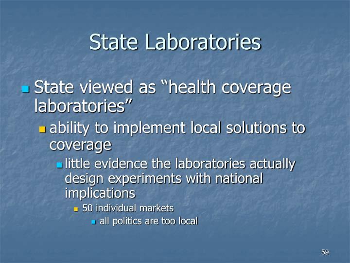 State Laboratories