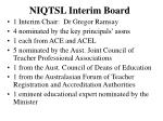 niqtsl interim board