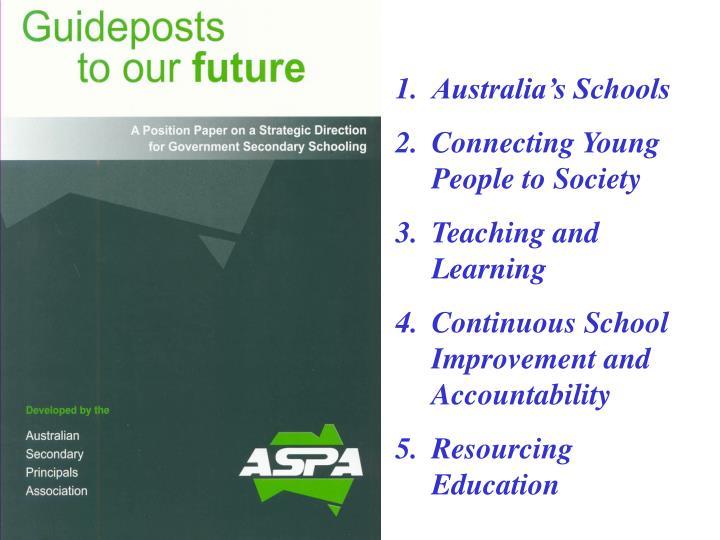 Australia's Schools