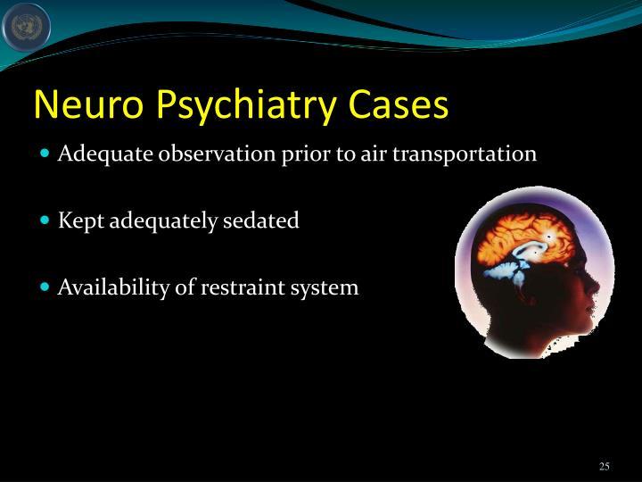 Neuro Psychiatry Cases