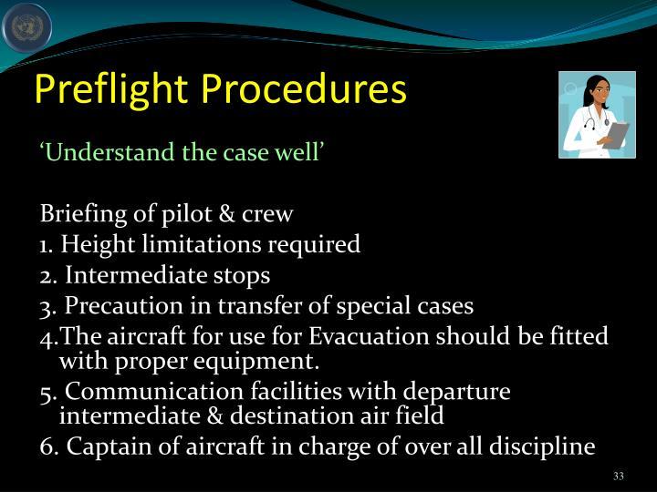 Preflight Procedures
