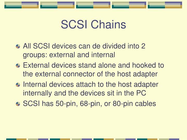 SCSI Chains