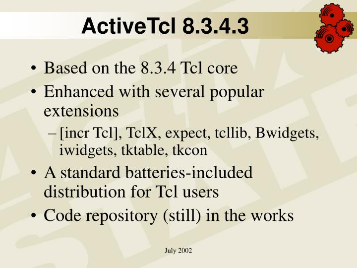 ActiveTcl 8.3.4.3