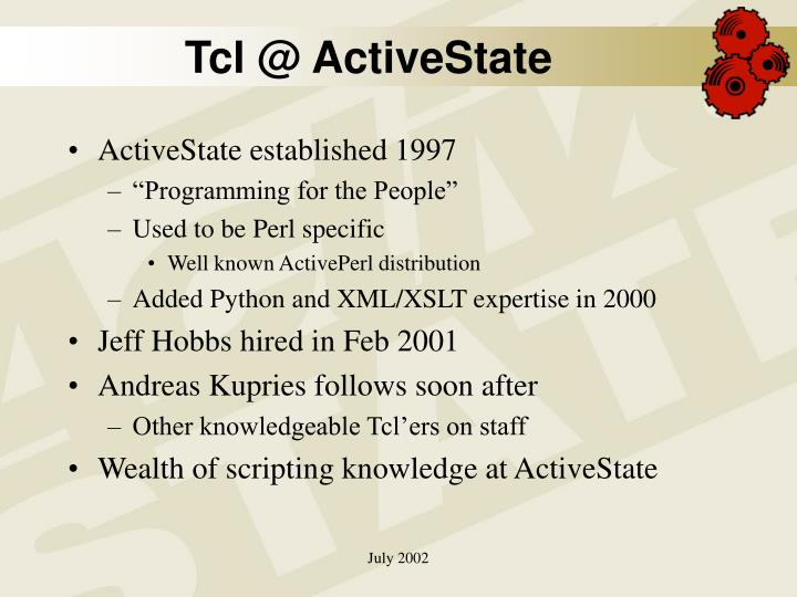 Tcl @ ActiveState