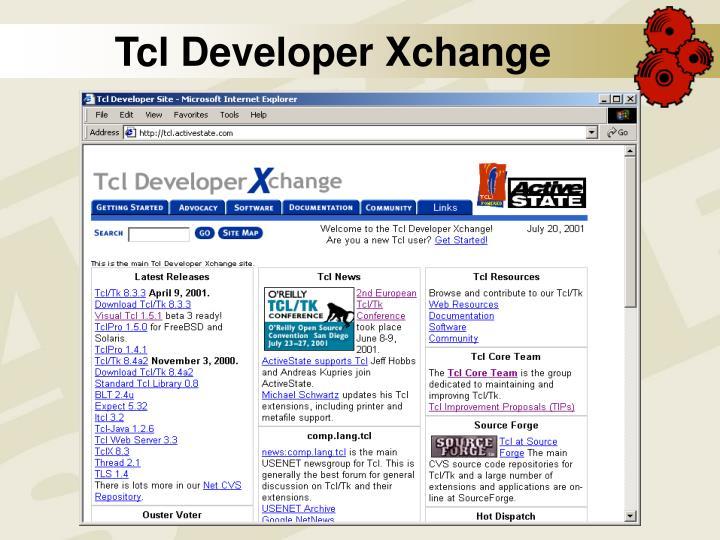 Tcl Developer Xchange