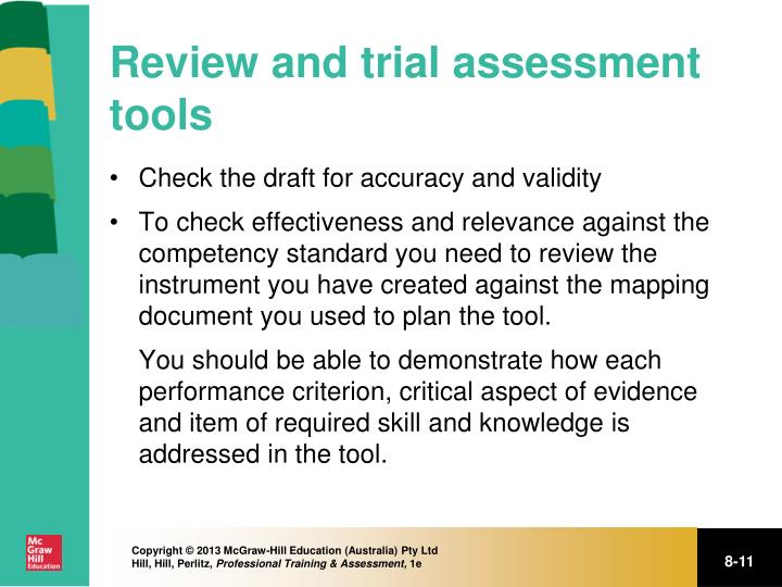 Review and trial assessment tools