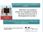 63 e commission permanente de collaboration franco qu b coise