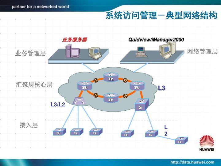 系统访问管理-典型网络结构