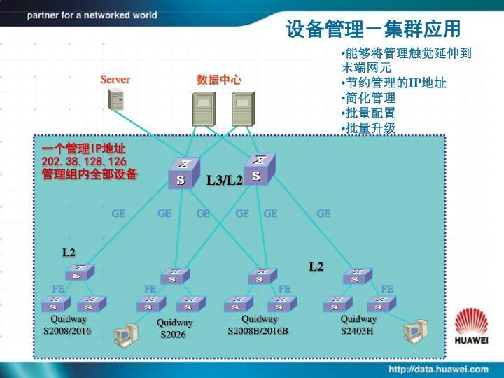 设备管理-集群应用