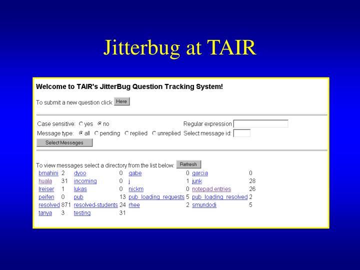 Jitterbug at TAIR