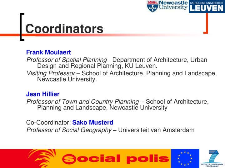Coordinators