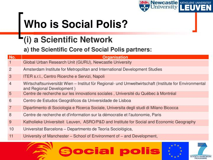 Who is Social Polis?