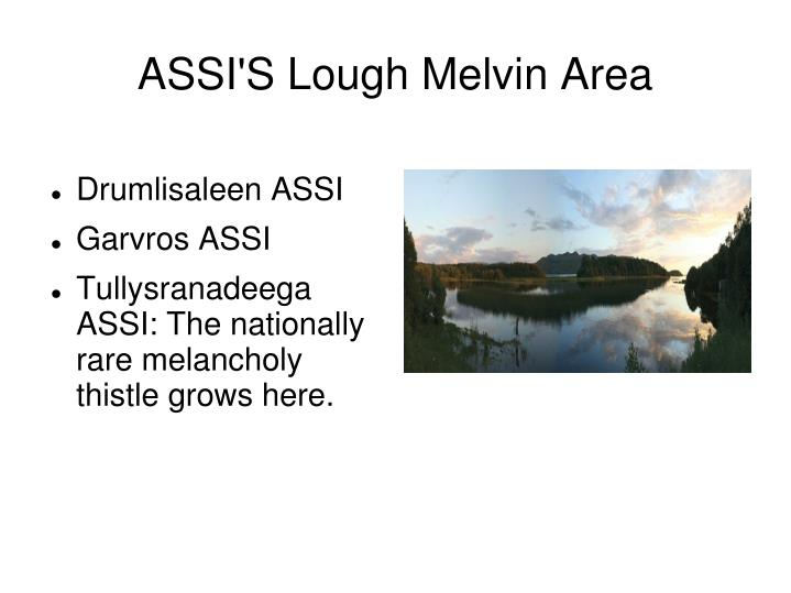 ASSI'S Lough Melvin Area