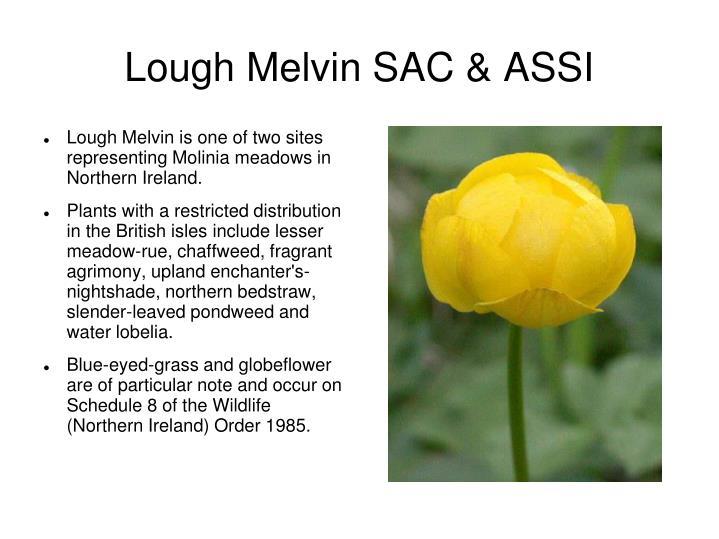 Lough Melvin SAC & ASSI