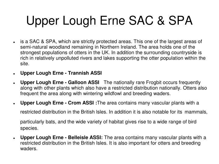 Upper Lough Erne SAC & SPA