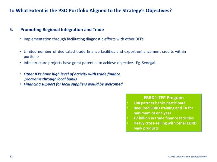 To What Extent is the PSO Portfolio Aligned to the Strategy's Objectives?