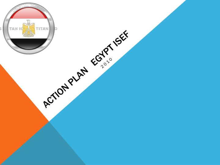 Action plan egypt isef
