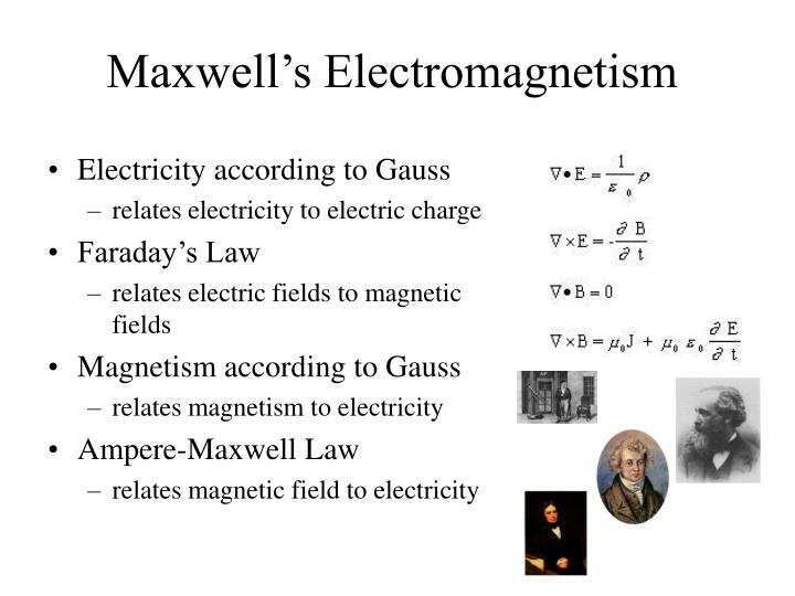 Maxwell's Electromagnetism