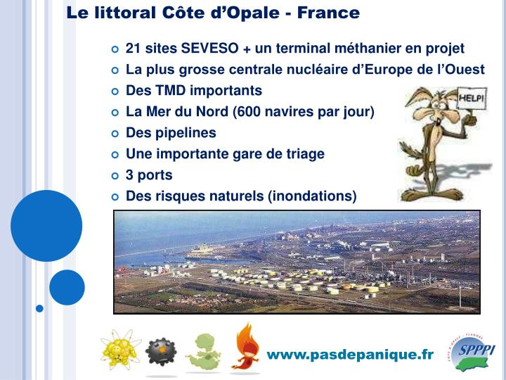 Le littoral Côte d'Opale - France
