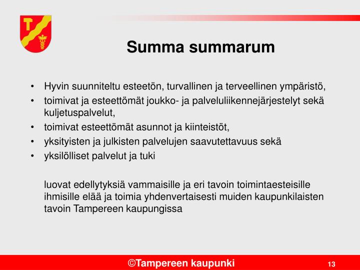 Summa summarum
