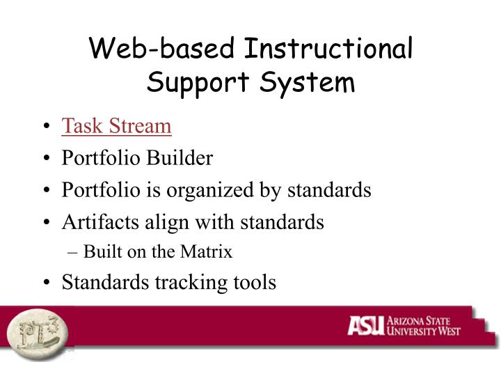 Web-based Instructional Support System